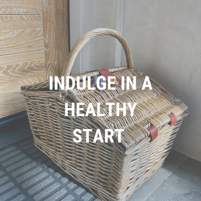 Indulge in a healthy start