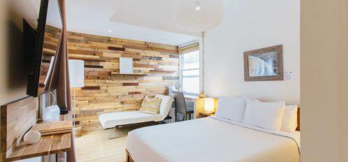 Courtyard Suite - Bedroom Area