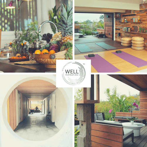 WELL building is in all our common spaces, rooms, and throughout the whole property