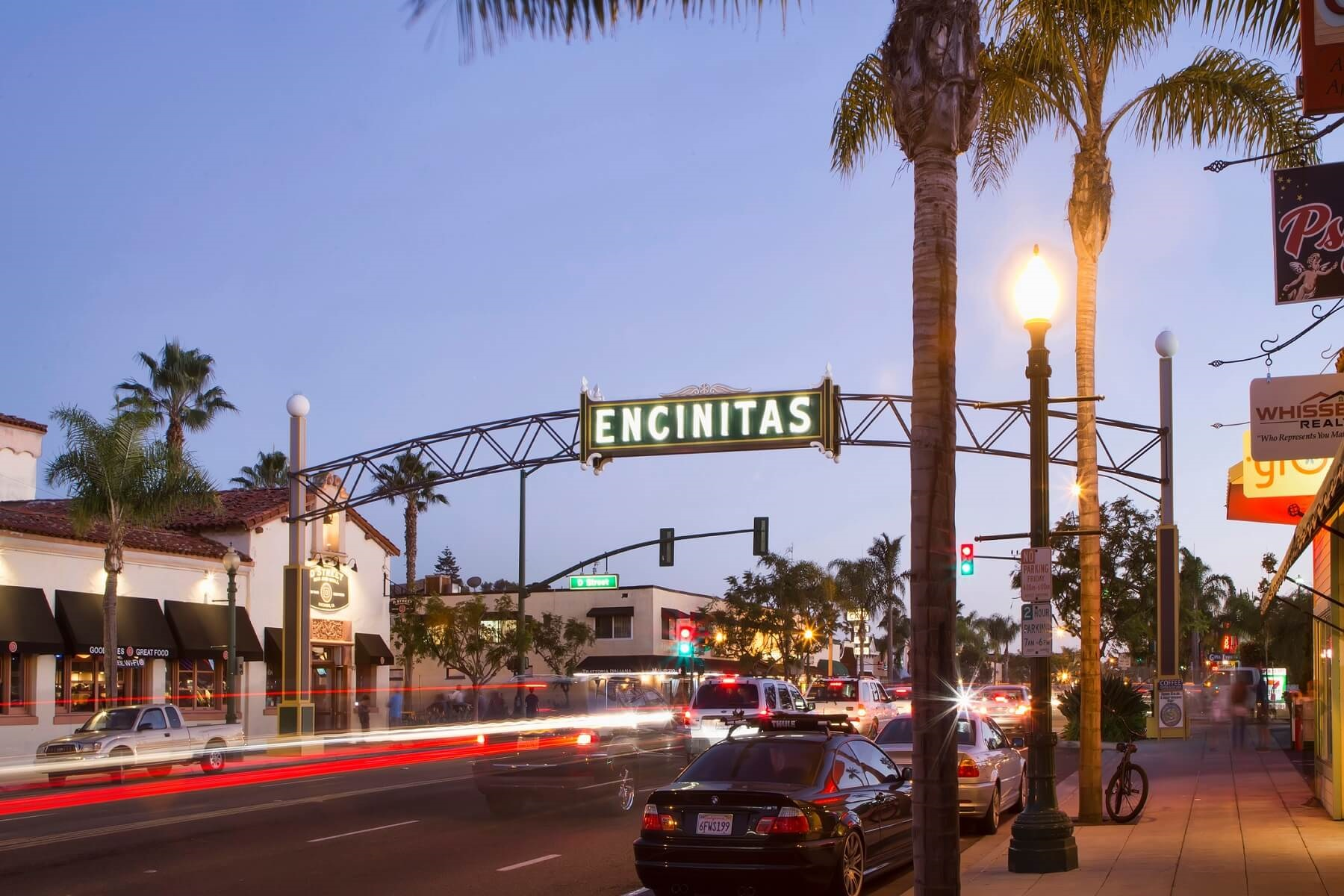 main street in encinitas
