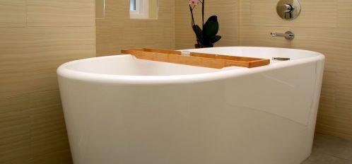 Sage Room tub