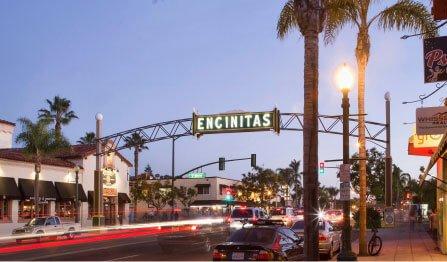 encintitas street sign