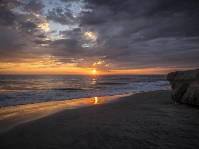 Moonlight Beach in Encinitas