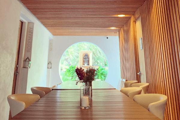 indoor dinner tables