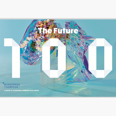 Future 100: 2020 report, an annual forecast of trends to watch in the coming year. Previous Future 100 reports have been featured in publications such as The Telegraph, BBC and Financial Times.