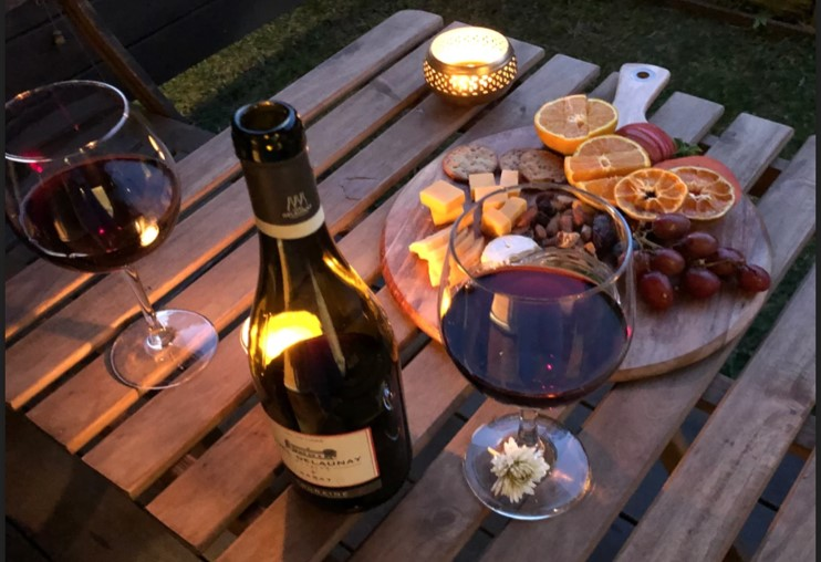 Wine and cheese