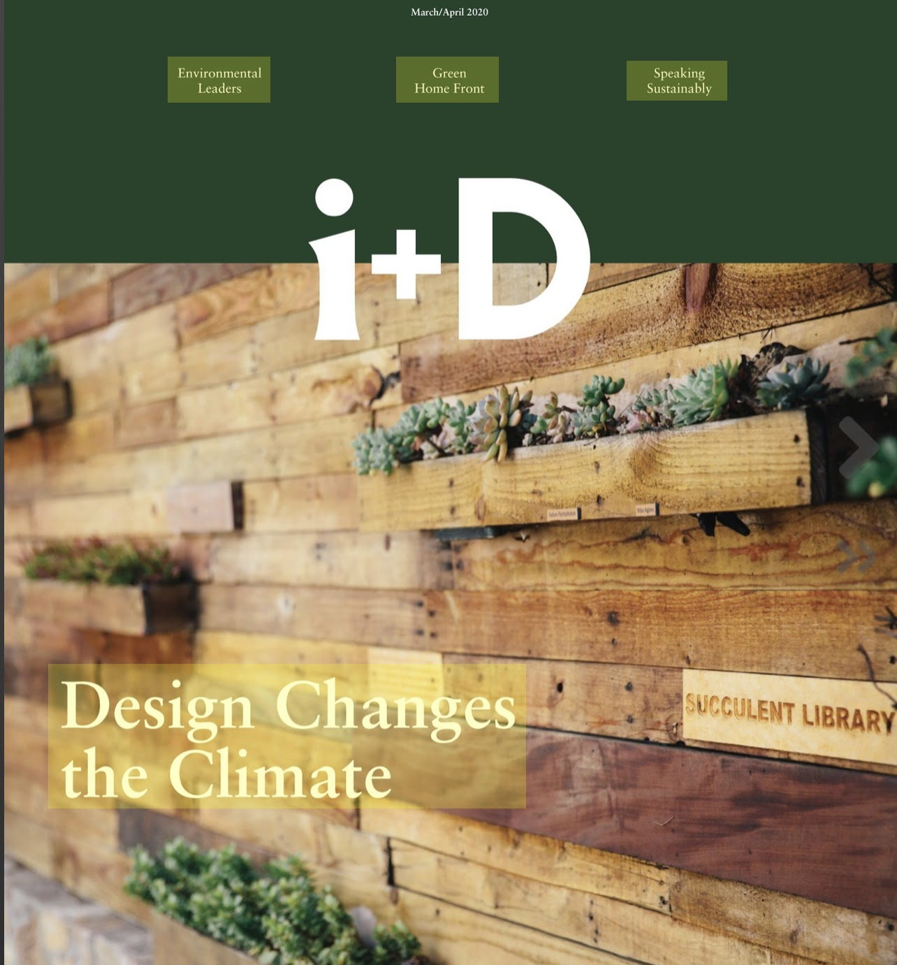 i + D magazine