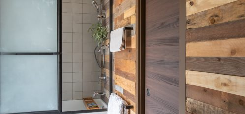 Wooded bath